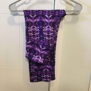 Old Navy purple crop leggings